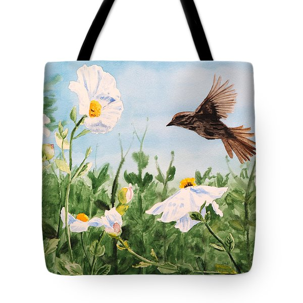 Flying Bird Tote Bag