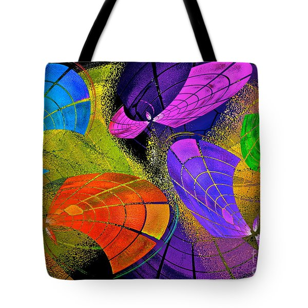 Flying Colors Tote Bag by Gwyn Newcombe