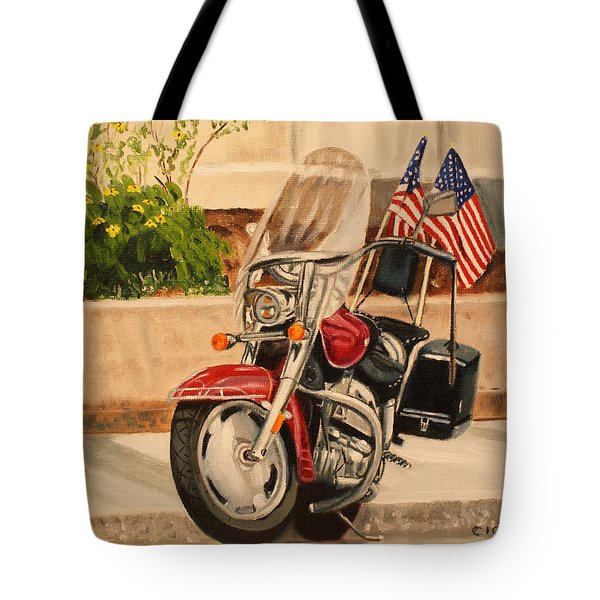 Flying Colors Tote Bag