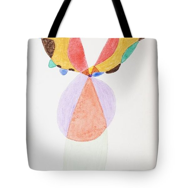 Tote Bag featuring the painting Flying Colors by Stormm Bradshaw