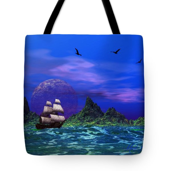 Tote Bag featuring the photograph Flying Dutchman by Mark Blauhoefer
