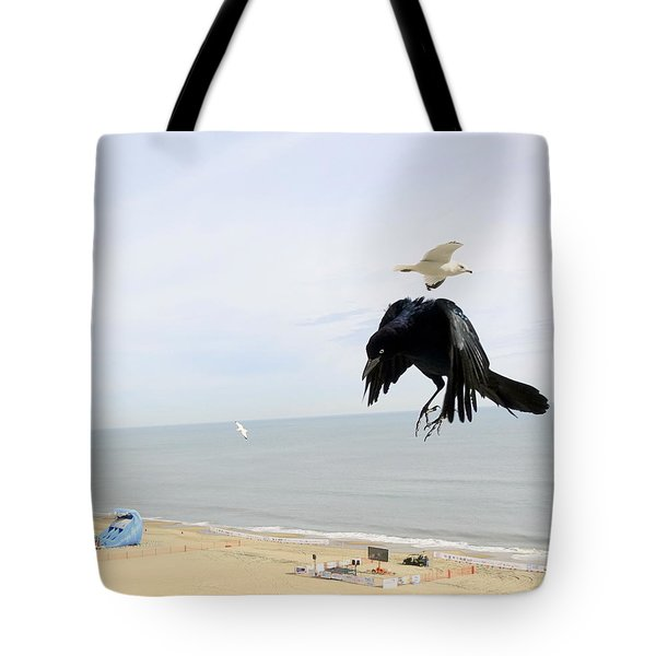 Flying Evil With Bad Intentions Tote Bag