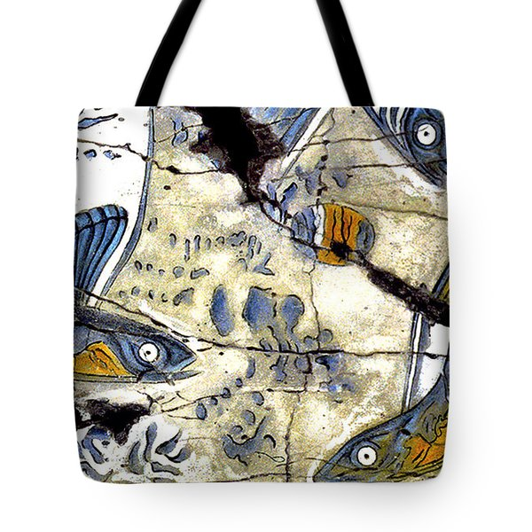 Flying Fish No. 3 - Study No. 2 Tote Bag by Steve Bogdanoff