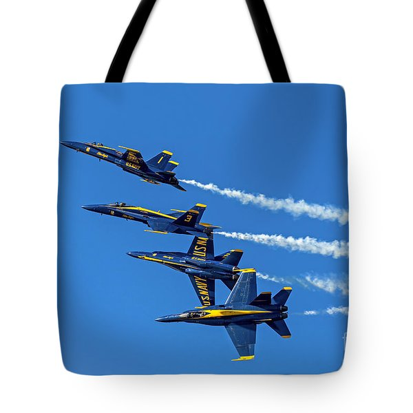 Flying Formation Tote Bag