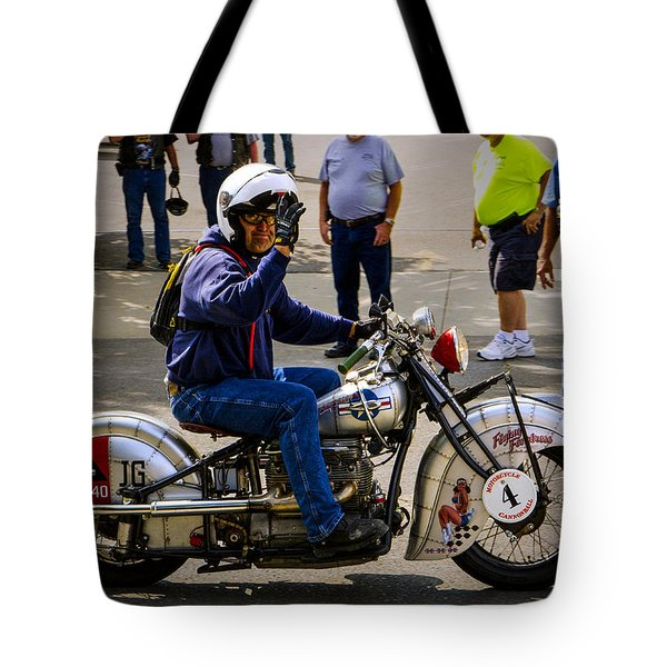 Flying Fortress 4 Tote Bag