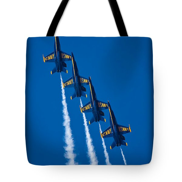 Flying High Tote Bag by Adam Romanowicz