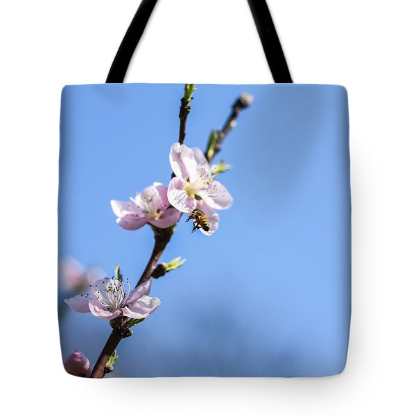 Tote Bag featuring the photograph Flying High by Amber Kresge