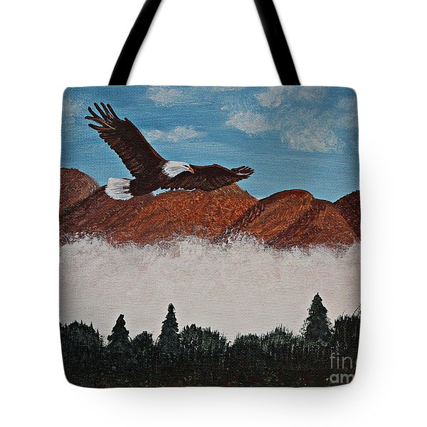 Flying High Tote Bag by Barbara Griffin