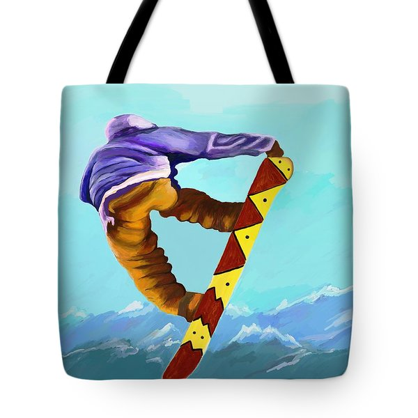 Flying High Tote Bag by Jeanne Fischer