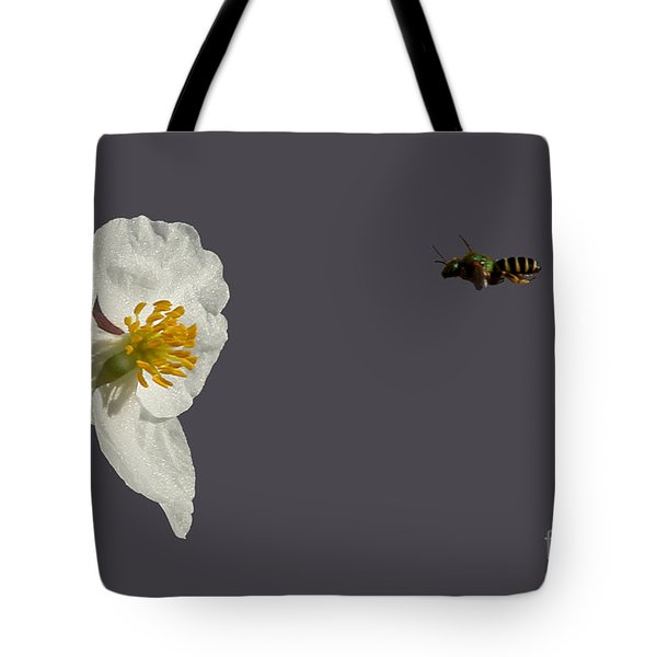 Flying In For Breakfast Tote Bag