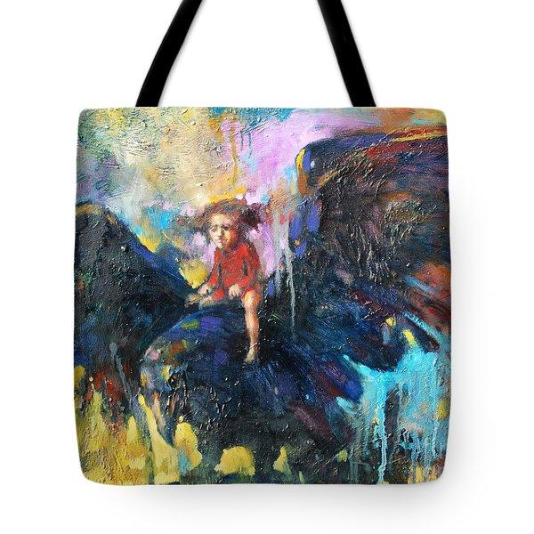 Flying In My Dreams Tote Bag by Michal Kwarciak