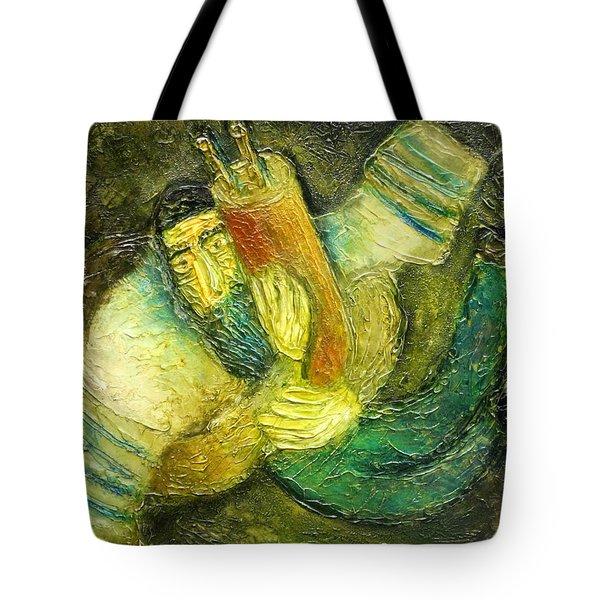 Flying Jew Tote Bag by Leon Zernitsky