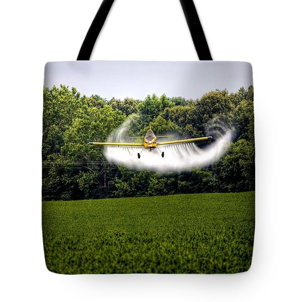 Flying Low Tote Bag