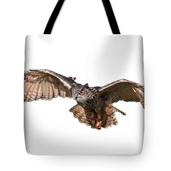 Flying Owl Tote Bag