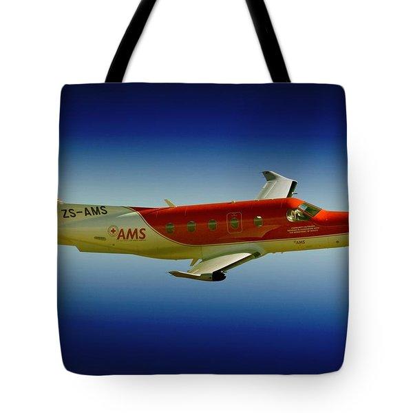 Flying Tote Bag by Paul Job