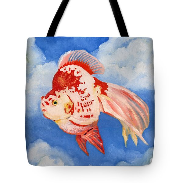Flying Ryukin Tote Bag