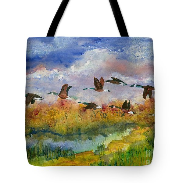 Flying South Tote Bag
