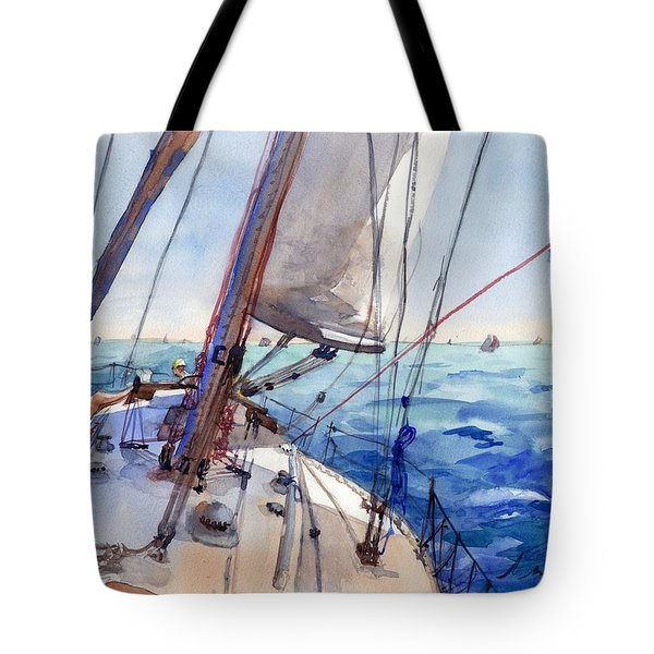 Flying The Chute Tote Bag