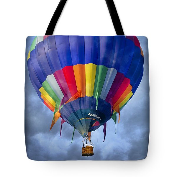 Flying The Coop Tote Bag by Betsy Knapp
