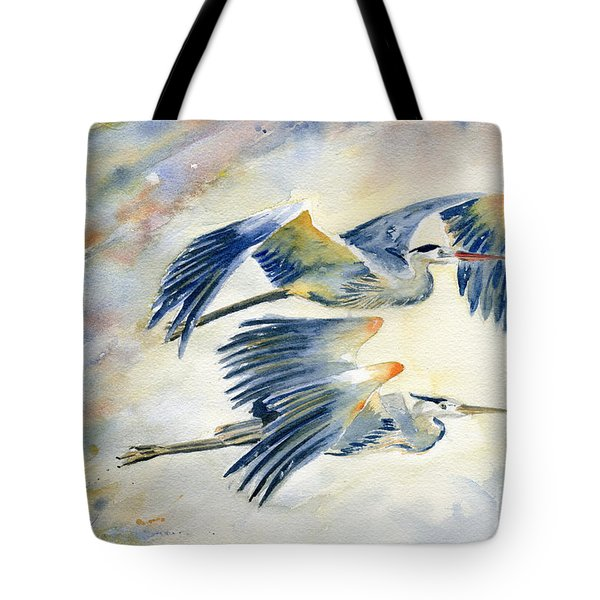 Flying Together Tote Bag by Melly Terpening