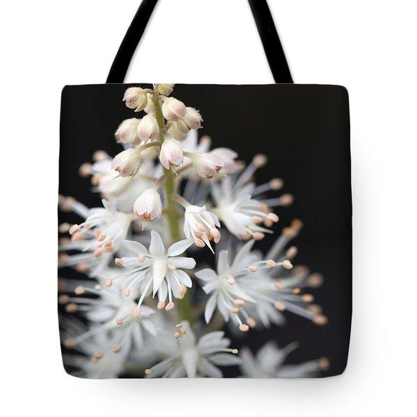 Foam Flower Tote Bag by Melinda Fawver