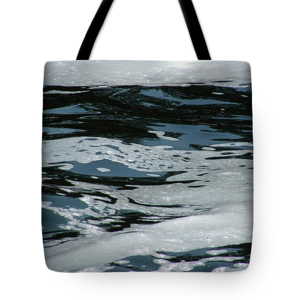 Foam On Water Tote Bag