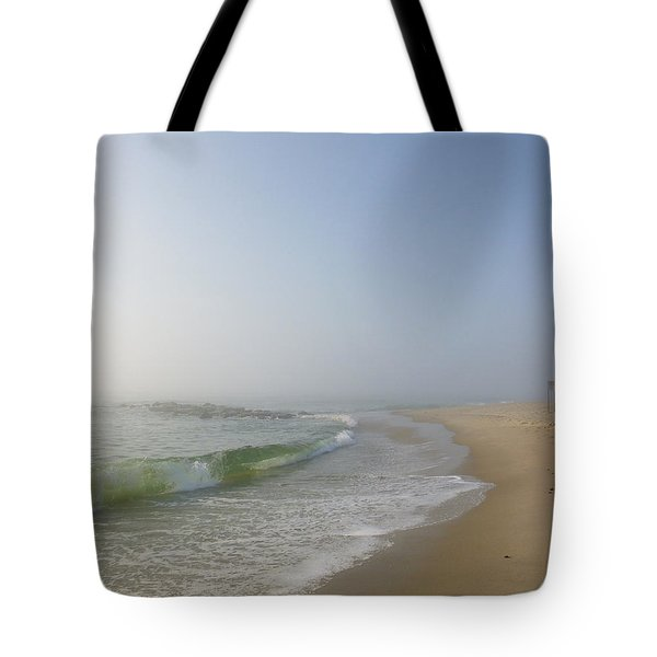 Fog And Blue Sky 2 Tote Bag