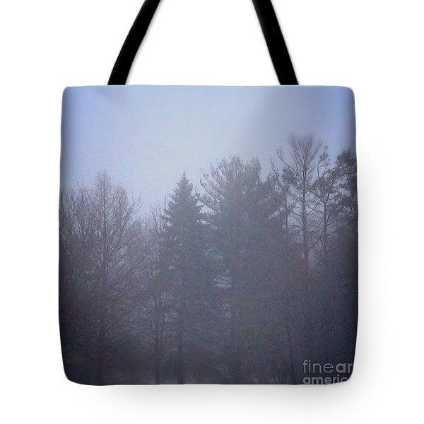 Fog And Mist Tote Bag