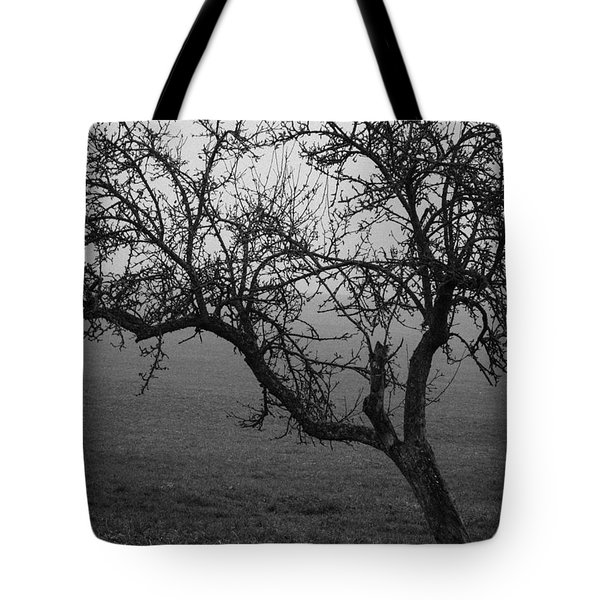 Fog And Solitude Tote Bag