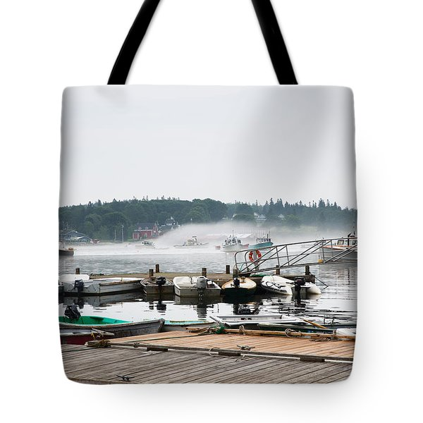 Fog Bound Tote Bag