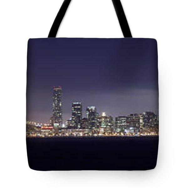 Fog City San Francisco Tote Bag by Mike Reid