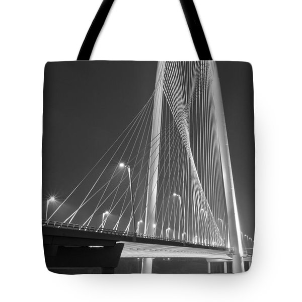 Fog Lights And Lines Iv Tote Bag
