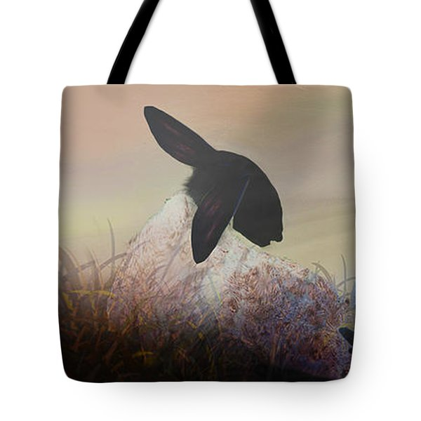 Fog On The Moor Tote Bag