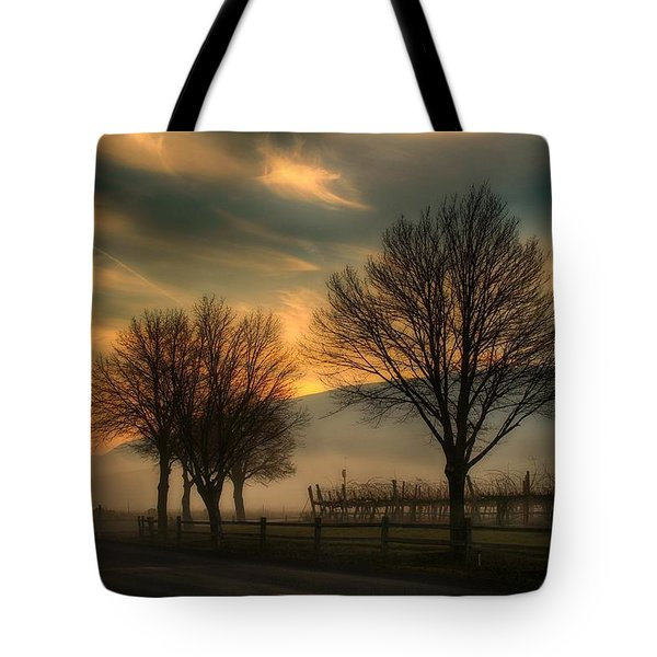 Foggy And Dreamy Tote Bag