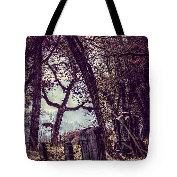 Tote Bag featuring the photograph Foggy Memories by Melanie Lankford Photography