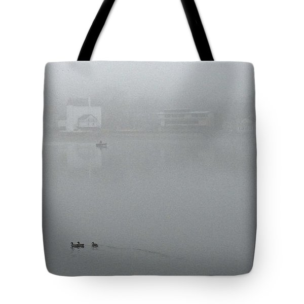 Foggy Morning In Paradise - 01 Tote Bag