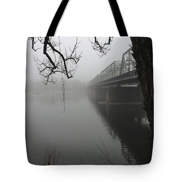 Foggy Morning In Paradise - The Bridge Tote Bag