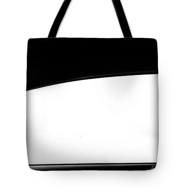 Foggy Window Tote Bag
