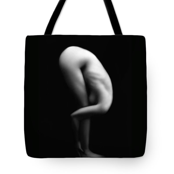 Folding In - Self Portrait  Tote Bag by Jaeda DeWalt
