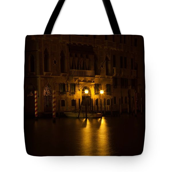 Follow Me Across The Water And Time Tote Bag
