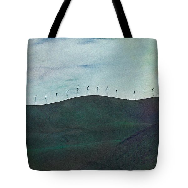 Tote Bag featuring the photograph Follow Me by Ken Walker