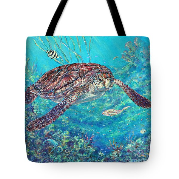 Follow Me Tote Bag