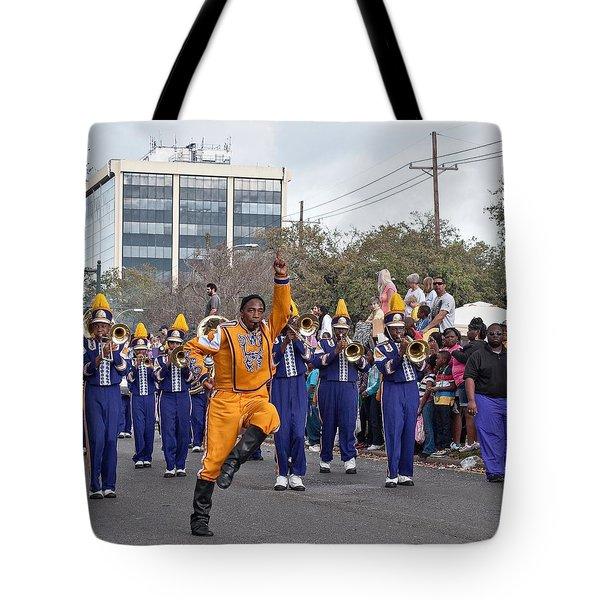 Follow Me Tote Bag by Steve Harrington