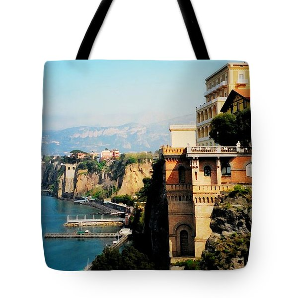 Follow My Heart To Sorrento Tote Bag