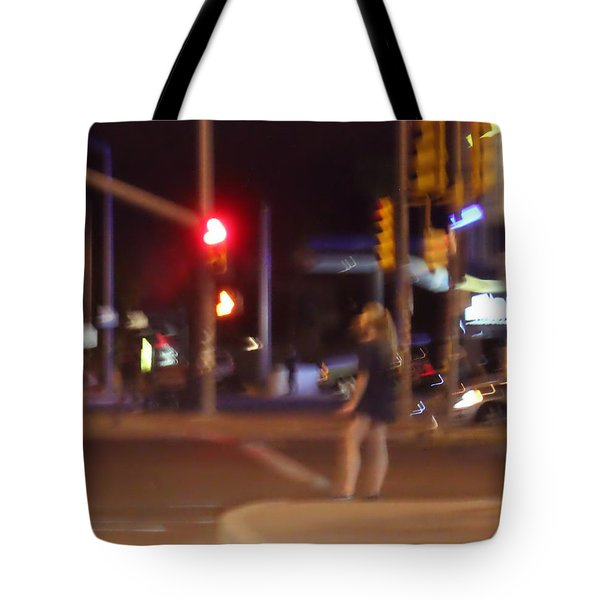 Follow The Heart Tote Bag by Kume Bryant