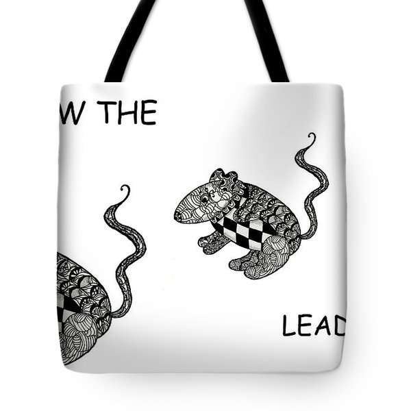 Follow The Leader Tote Bag by Jo-Anne Gazo-McKim