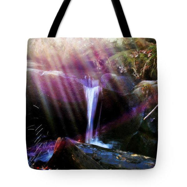 Follow  The Light Tote Bag by Peggy Franz