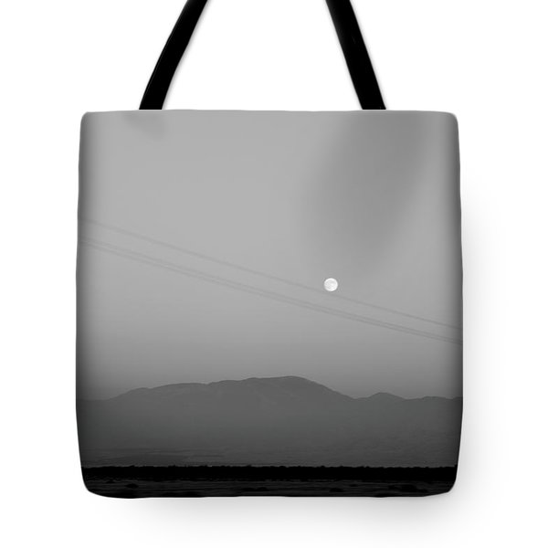 Follow The Moon Tote Bag
