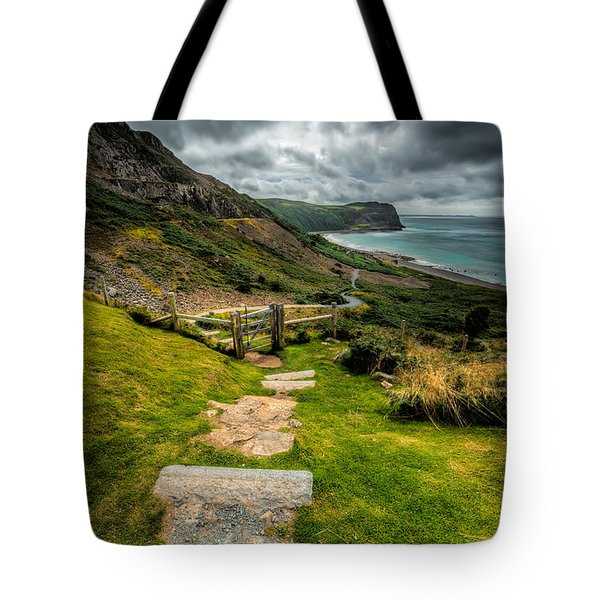 Follow The Path Tote Bag by Adrian Evans
