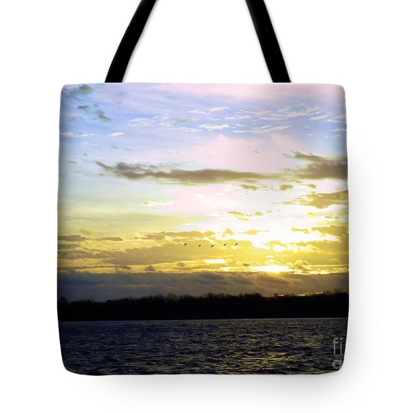 Follow The Sun Tote Bag